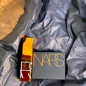 - nars laguna bronzer + after glow lip balm